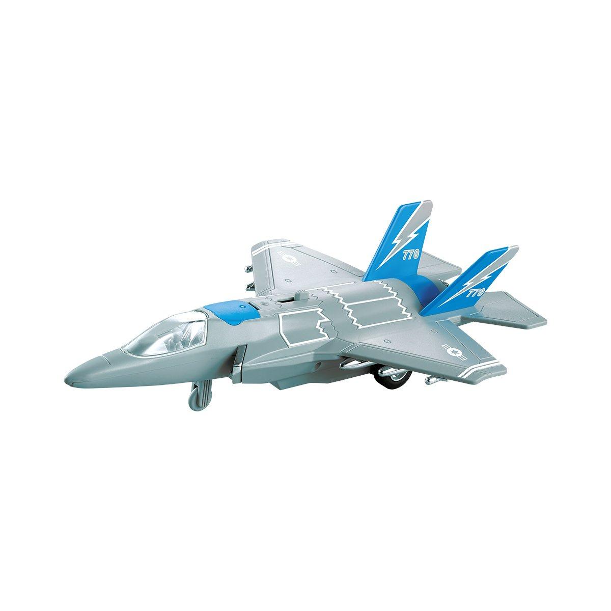 Avion de lupta cu lumini si sunete Cool Machines