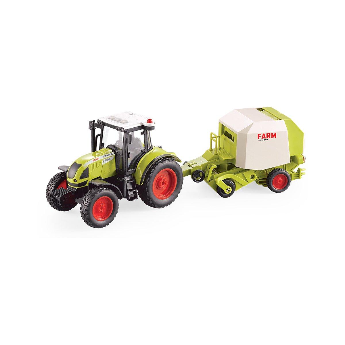 Tractor cu presa de balotat Cool Machines