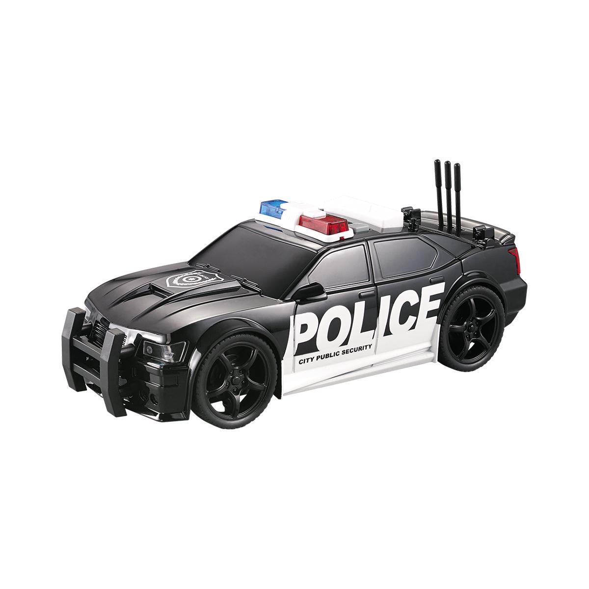 Masina de politie cu lumini si sunete Cool Machines