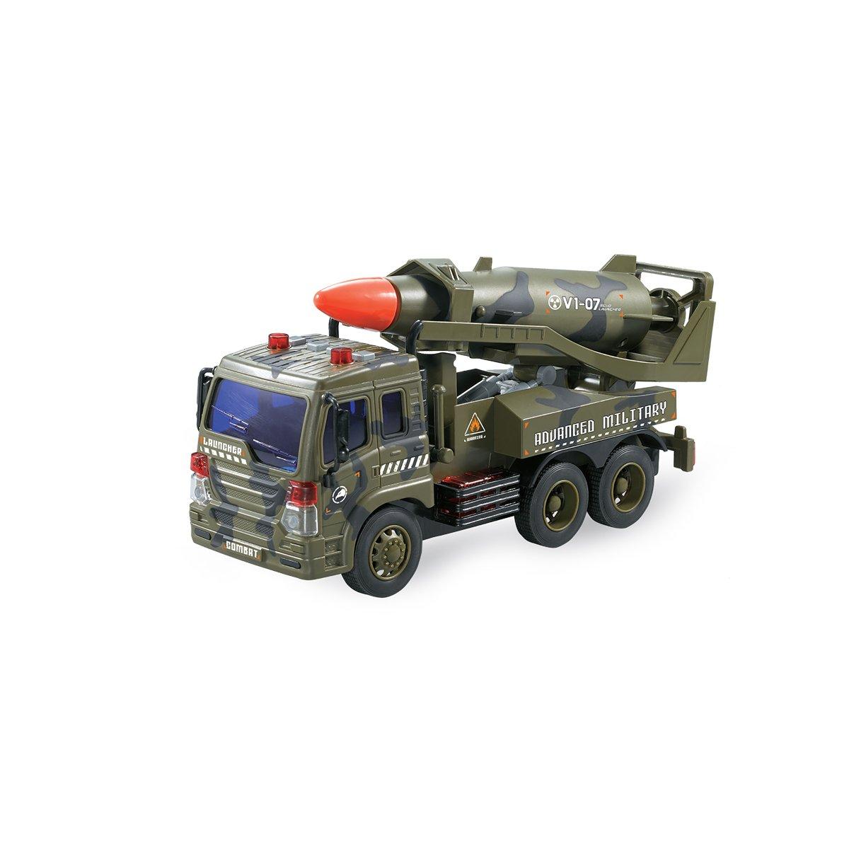 Camion militar cu racheta Cool Machines