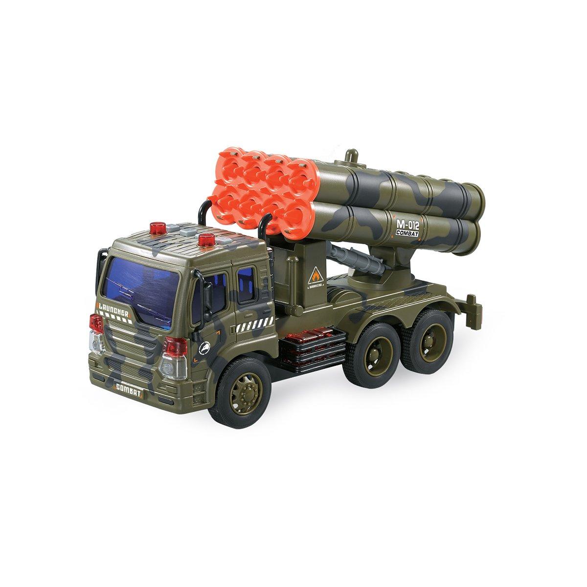 Camion militar cu lansator de rachete Cool Machines
