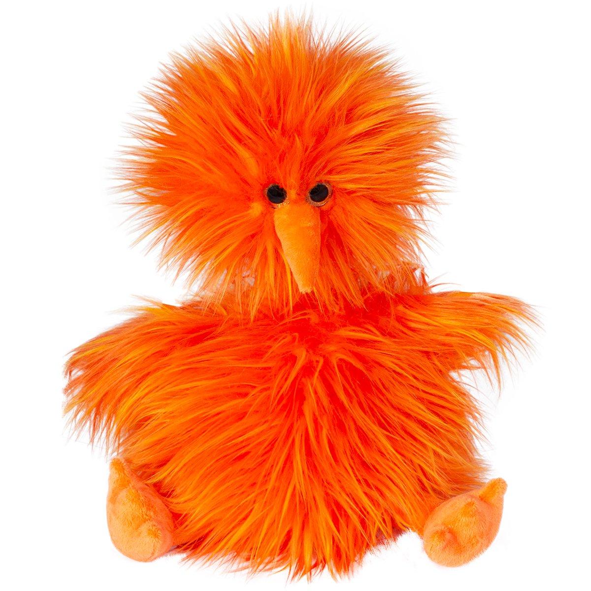 Jucarie de plus Noriel - Ratusca portocalie, 28cm