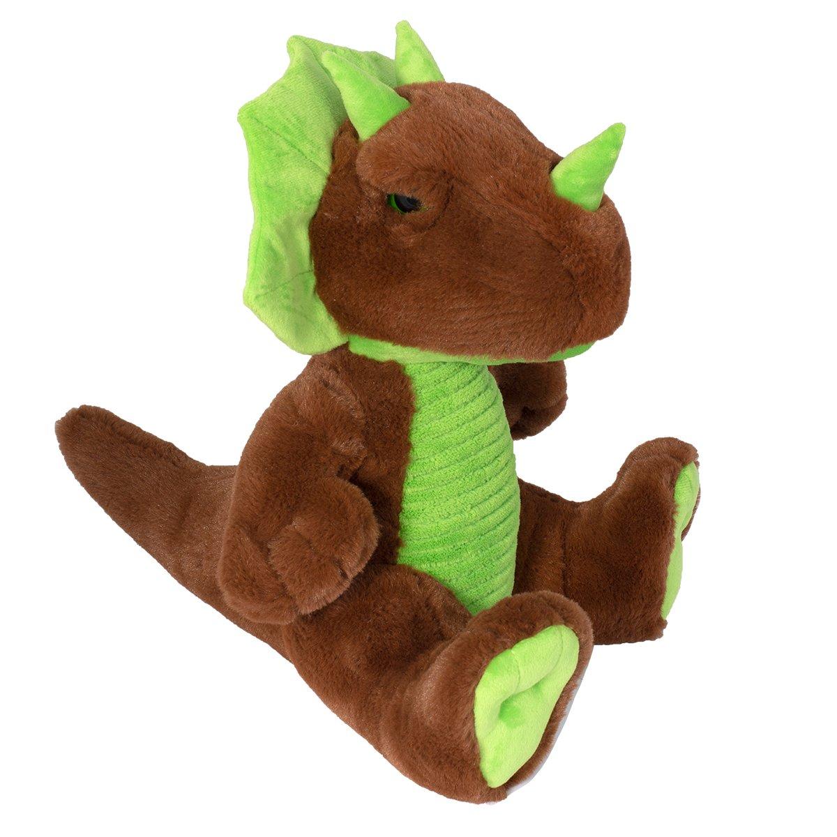 Jucarie de plus Noriel, Dinozaur, Maro, 31 cm