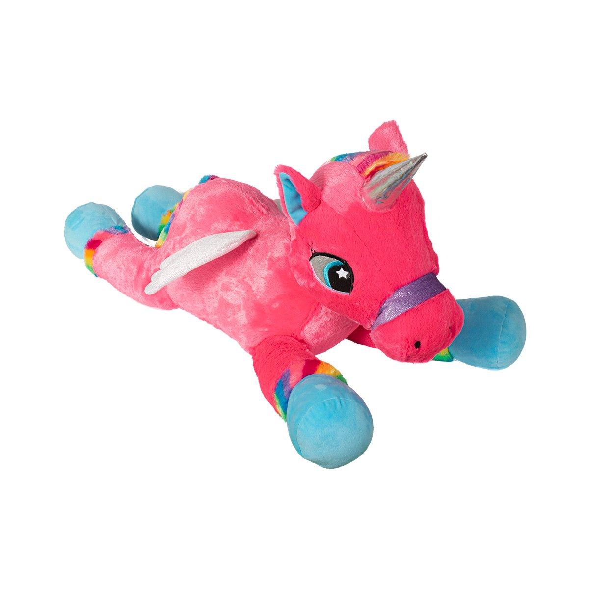 Jucarie de plus Noriel, Unicorn 85 cm, Roz