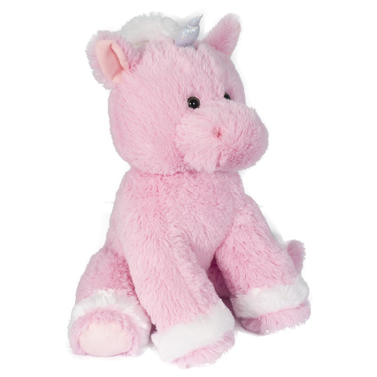 Jucarie de plus Noriel, Unicorn, Roz, 40 cm