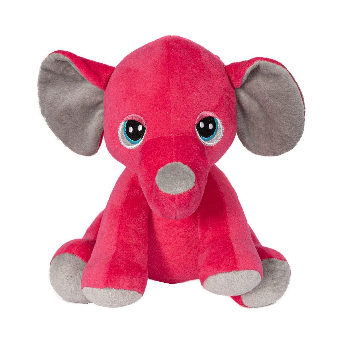 Jucarie de plus Noriel, Elefant 23 cm, Roz