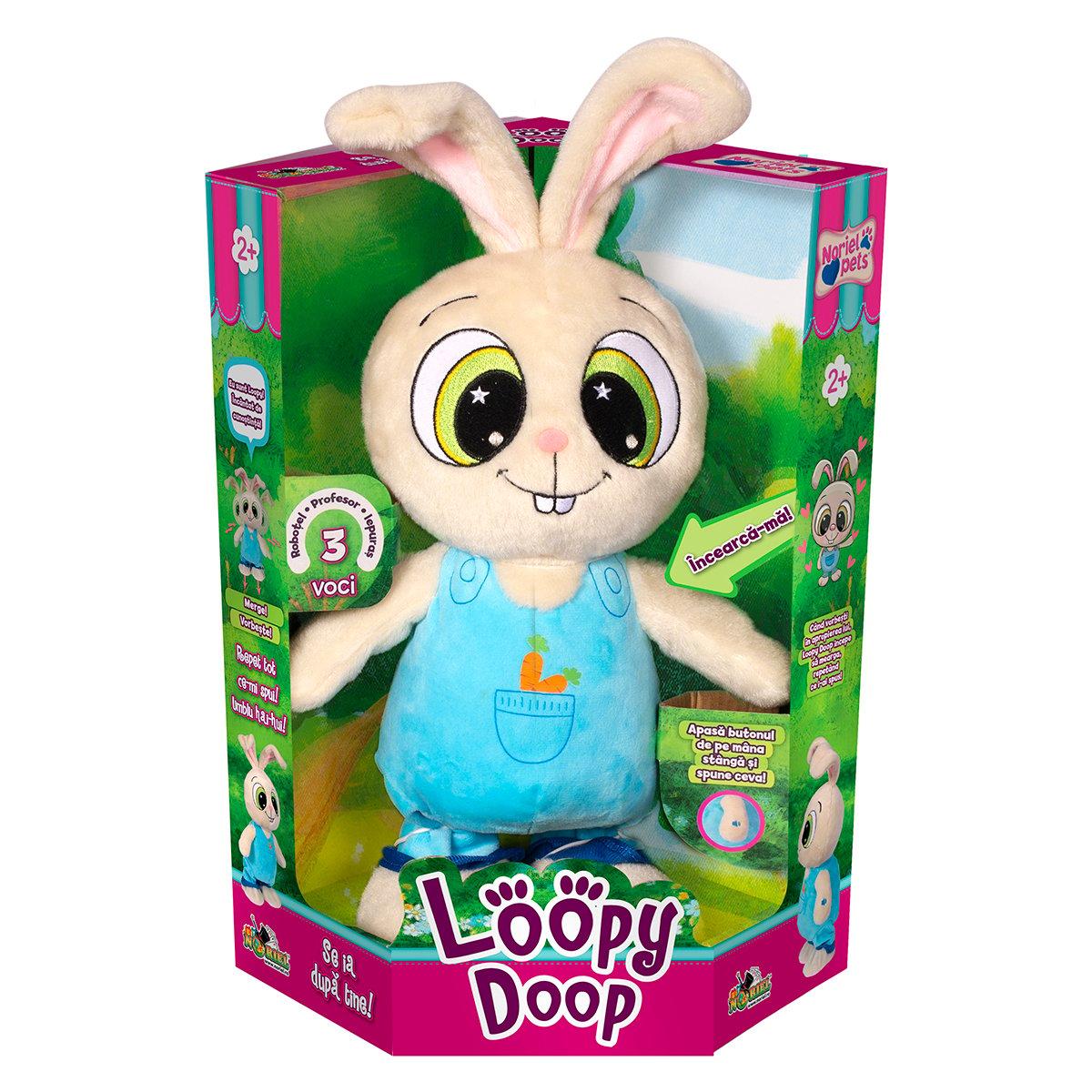 Jucarie de plus interactiva Noriel Pets - Loopy Doop