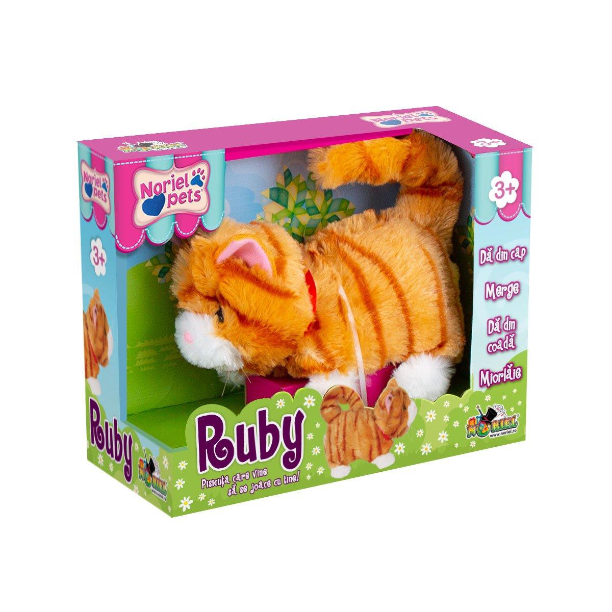 Jucarie de plus interactiva Noriel Pets - Ruby
