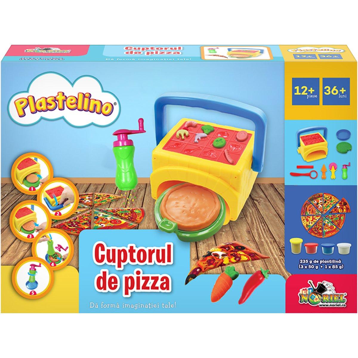 Set de joaca Plastelino, Cuptorul de pizza