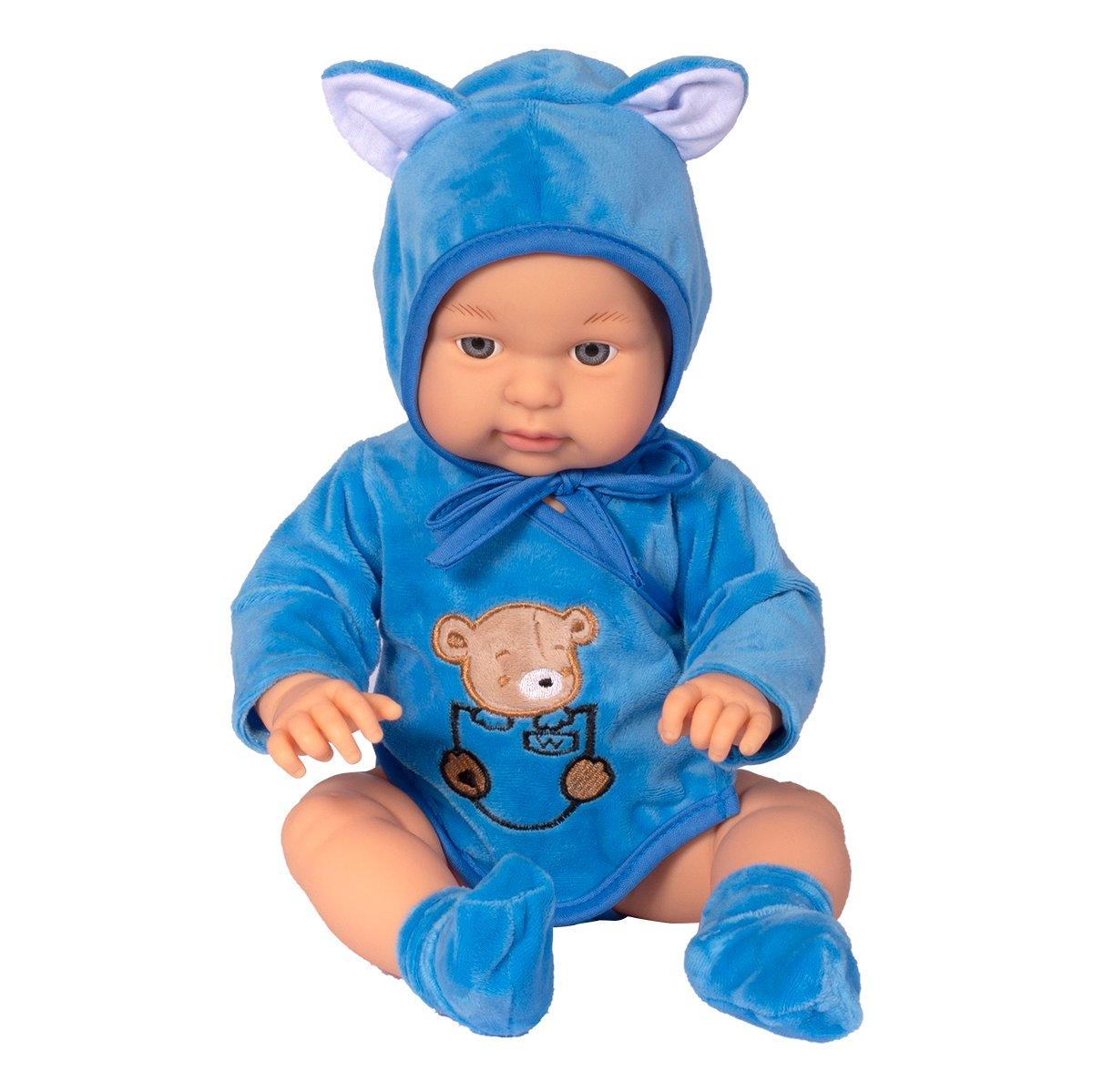 Papusa Baby Maia Deluxe, Bleu