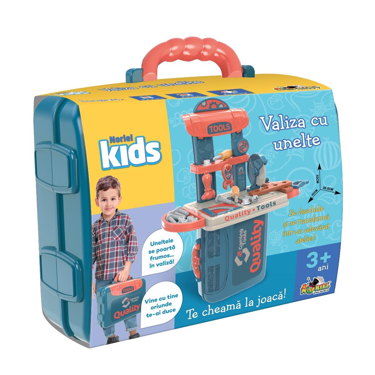 Jucarie de imitatie Noriel Kids, Valiza cu unelte