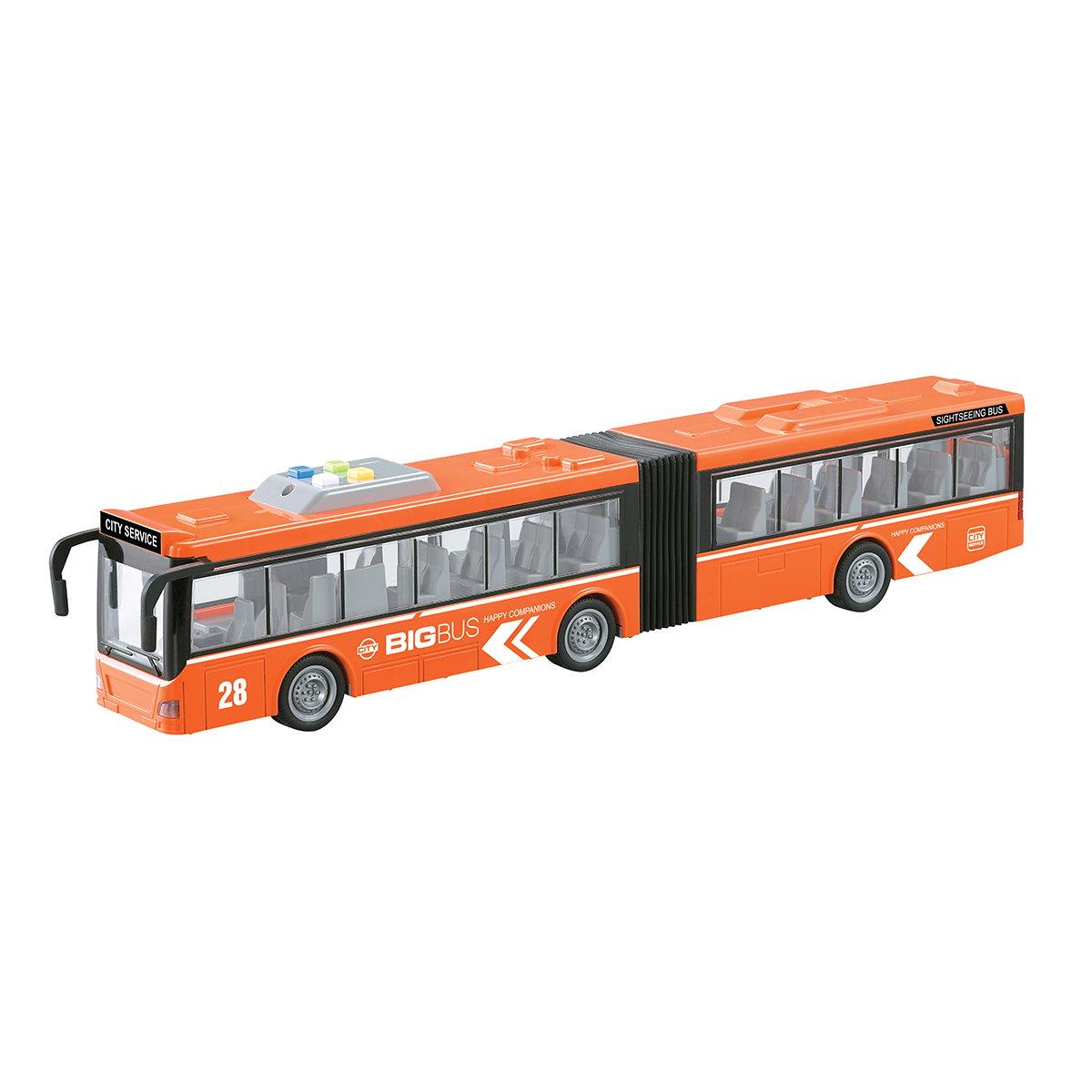 Autobuz articulat cu lumini si sunete Cool Machines, 1:16