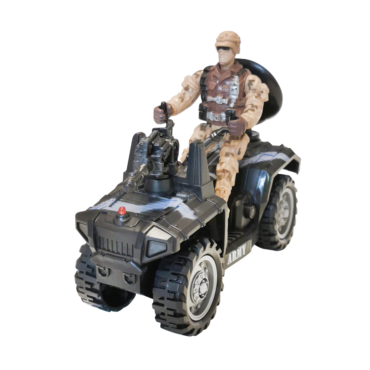 Set militar cu atv si figurina Cool Machines
