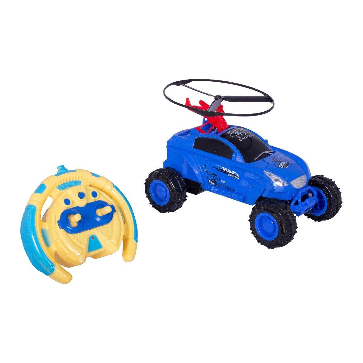 Masinuta cu elice si telecomanda Cool Machines, Albastru