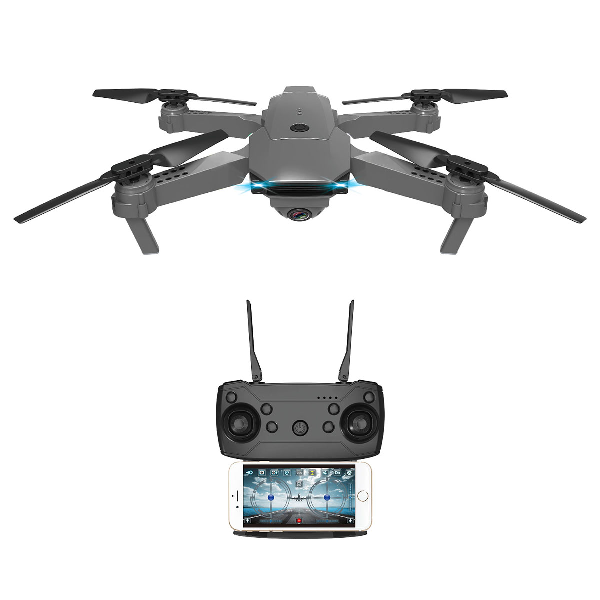 Drona pliabila cu camera HD iDrive imagine