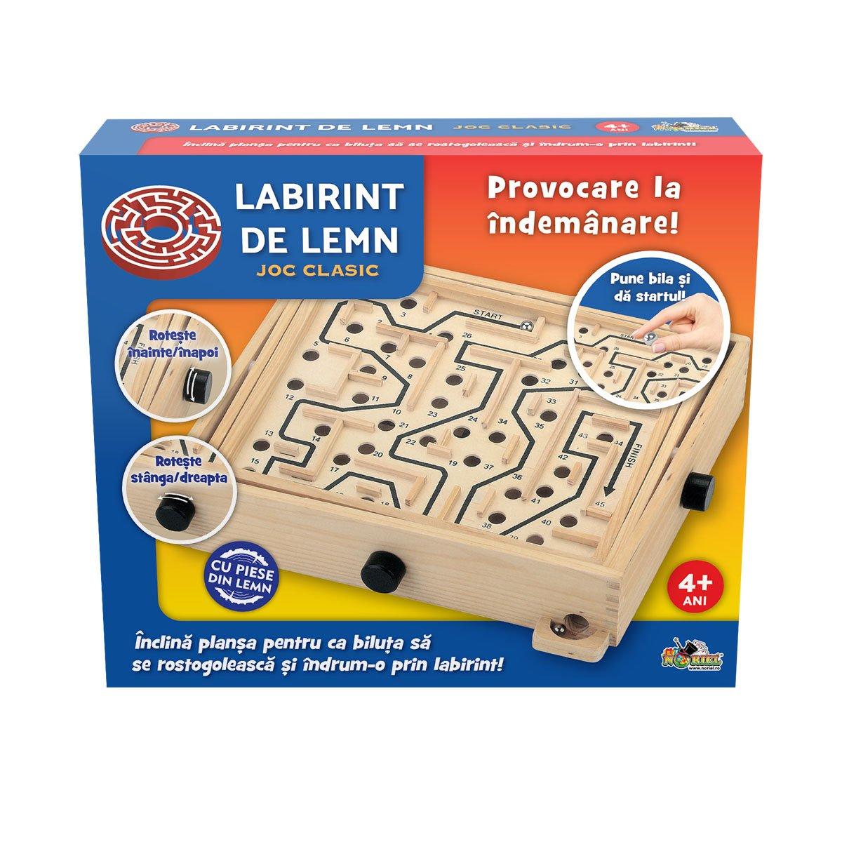 Joc clasic Noriel Games, Labirint de lemn