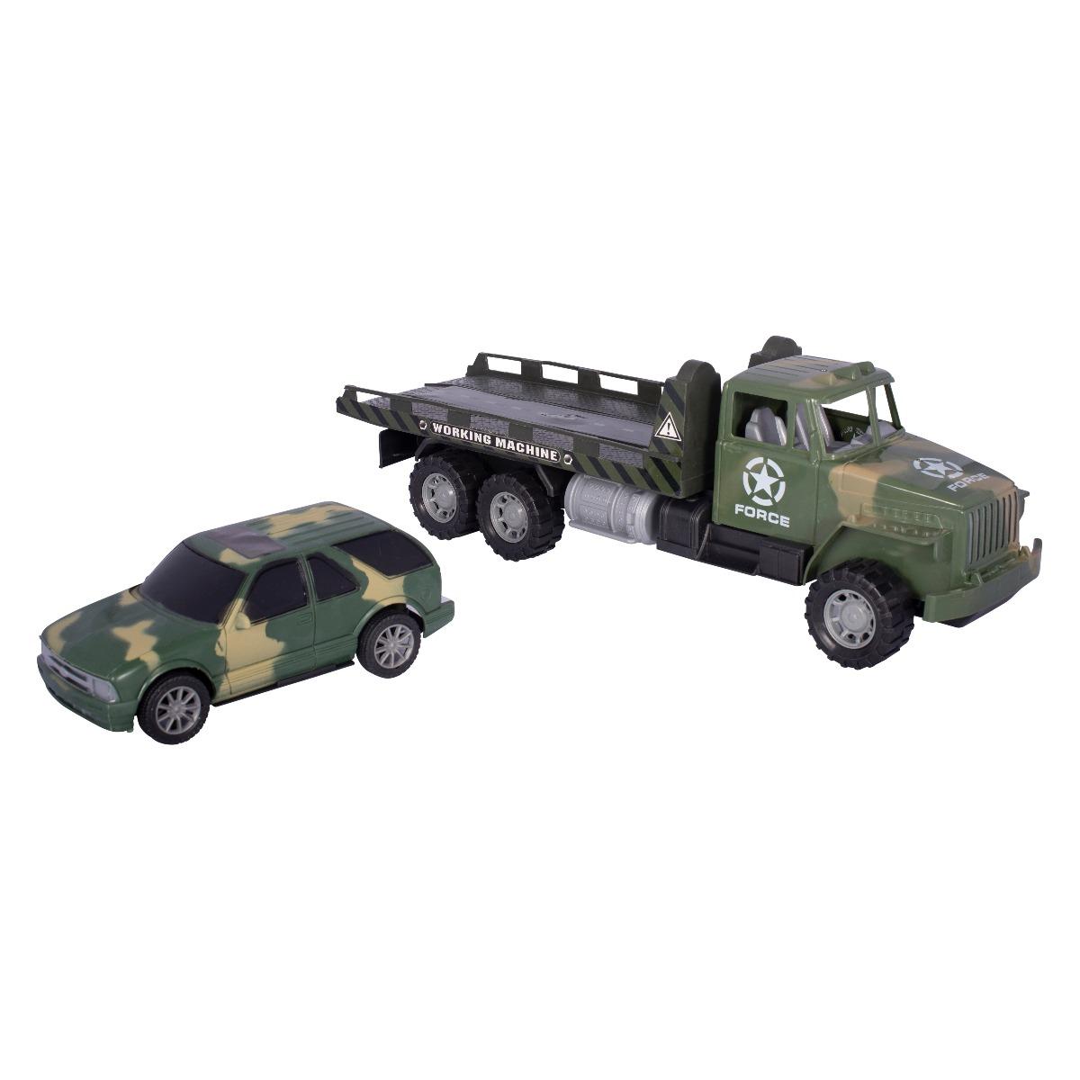Camion militar transportor autoturism - Cool Machines Noriel