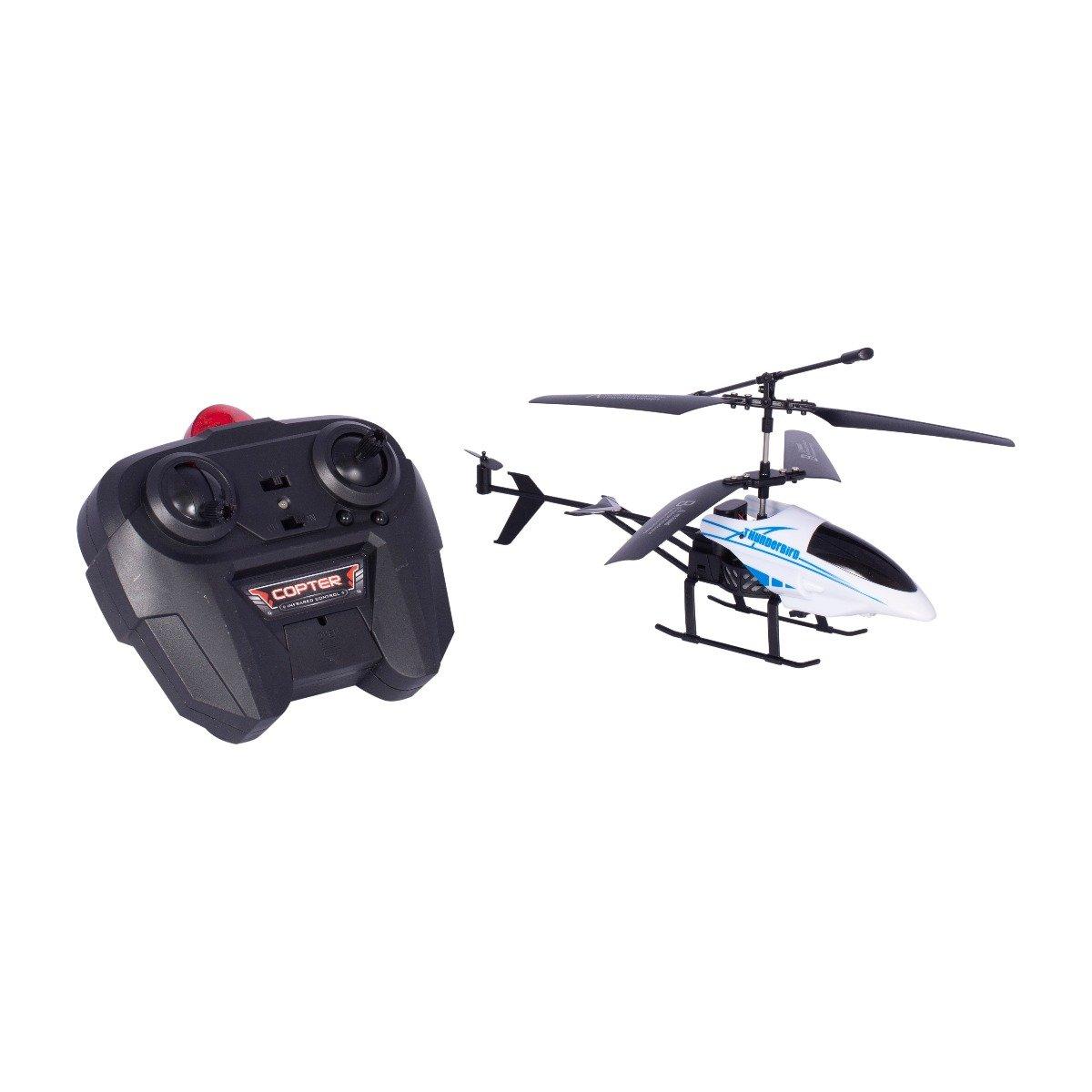 Elicopter cu telecomanda Cool Machines Noriel, alb