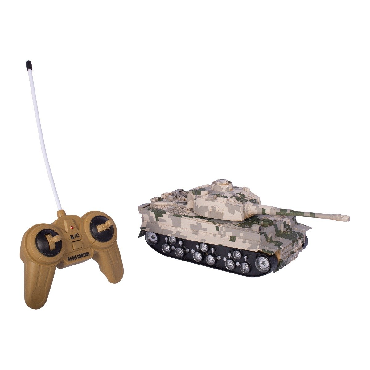 Tanc cu telecomanda Cool Machines Tiger II, camuflaj