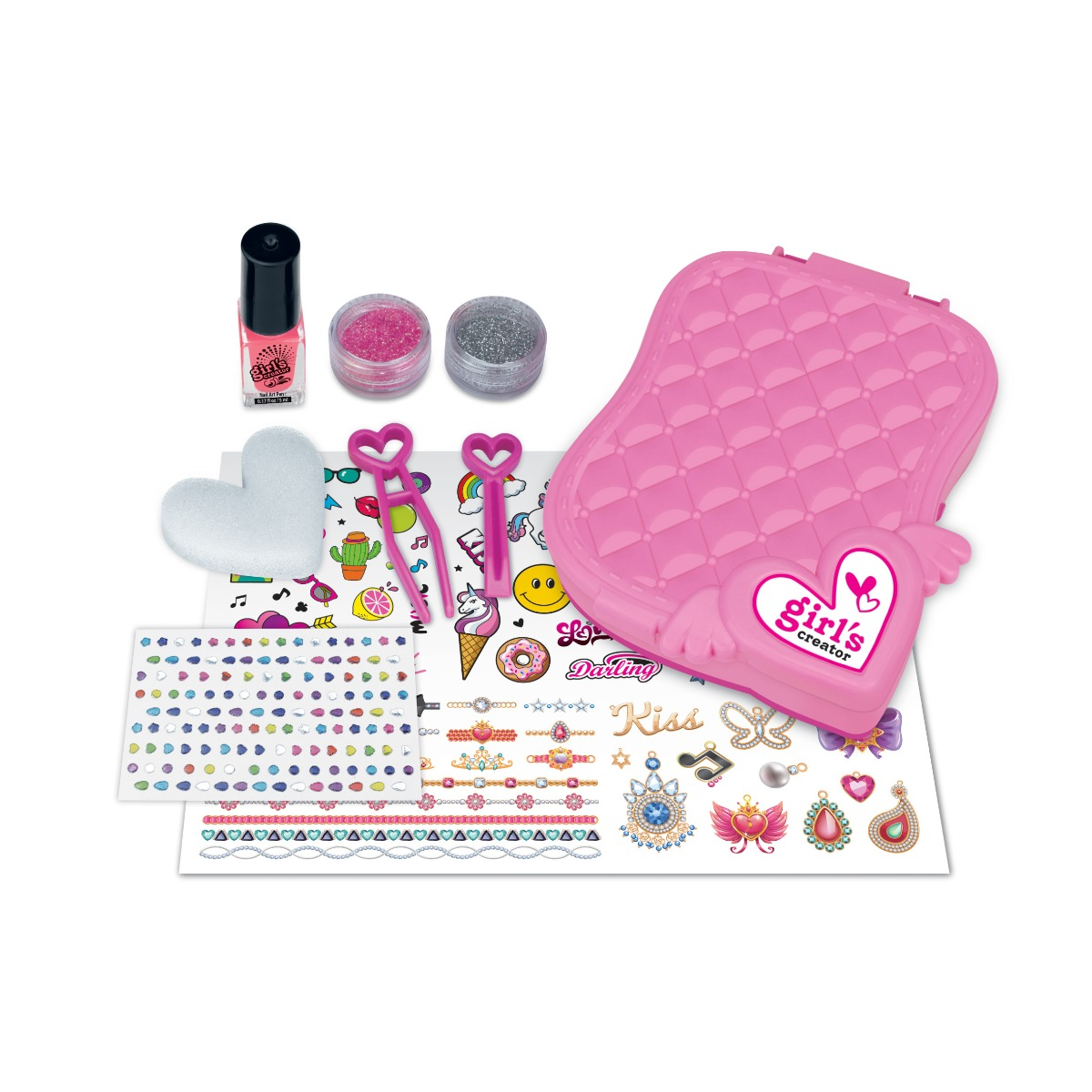 Set de creatie Caseta de manichiura, Color Chic