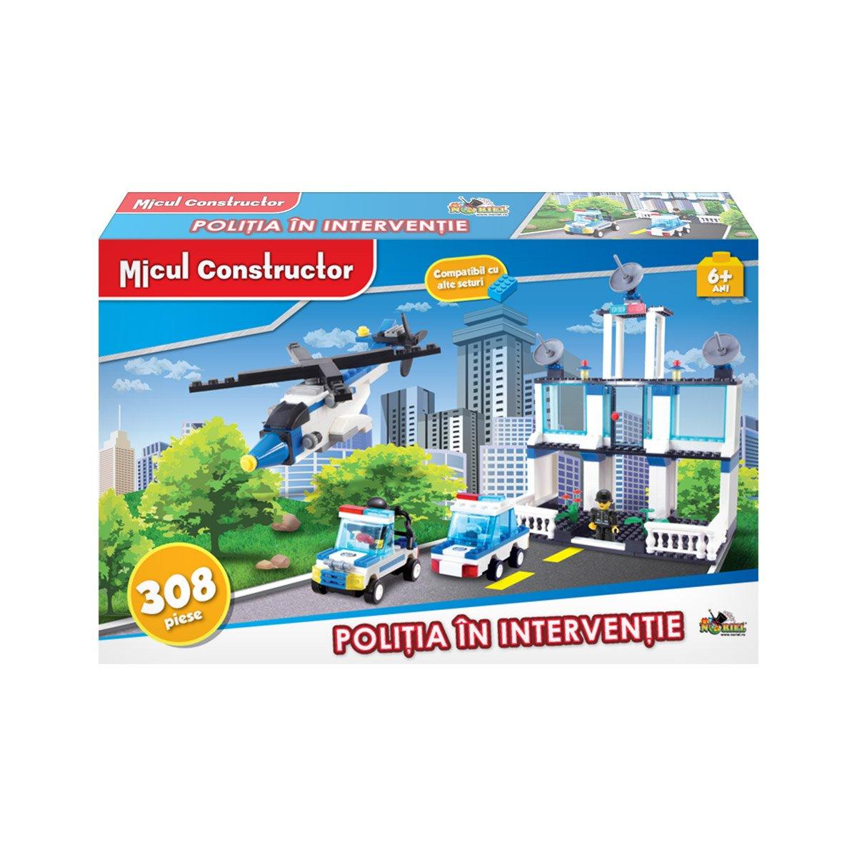 Jucarie de constructie Micul Constructor - Politia in interventie