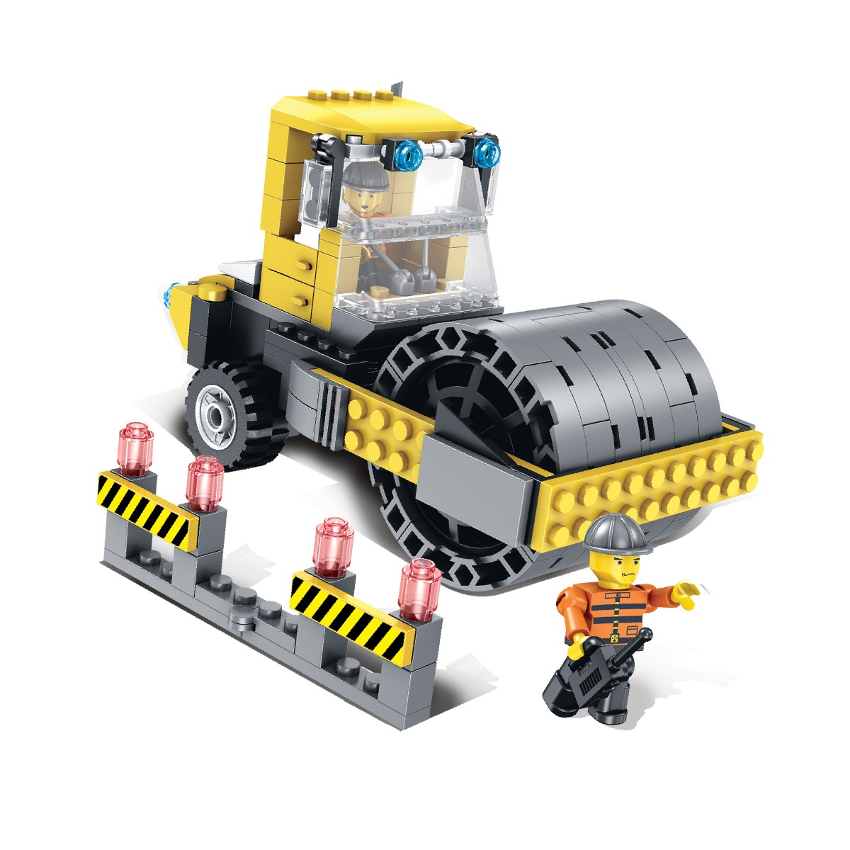 Jucarie de constructie Micul Constructor - Compactor