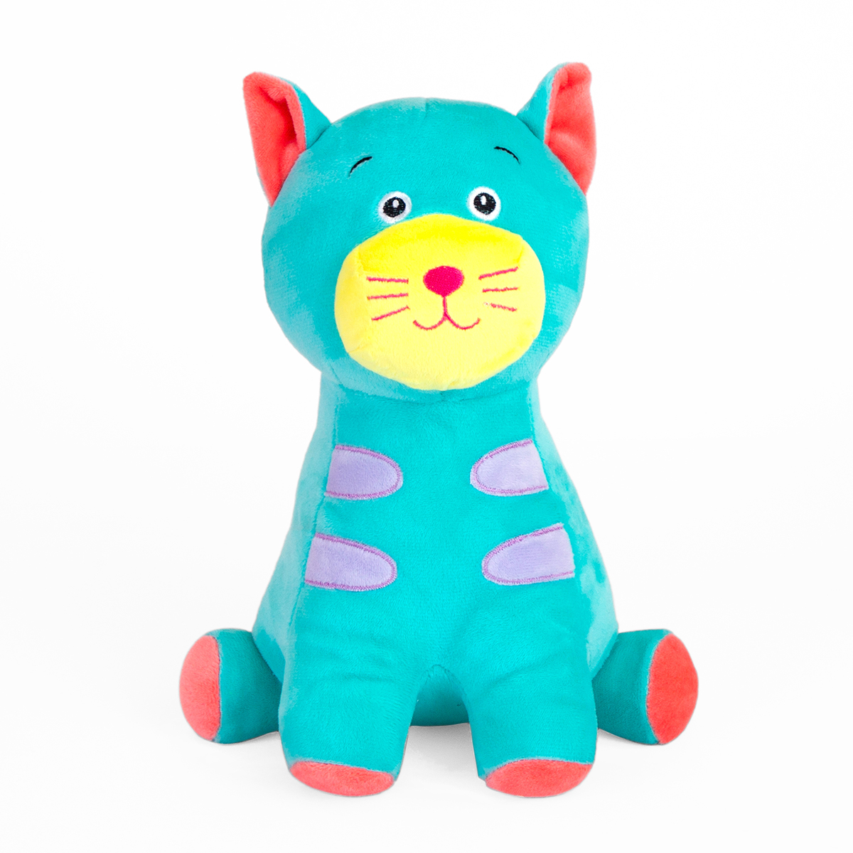 Jucarie de plus Noriel, Pisica, Blue, 25 cm