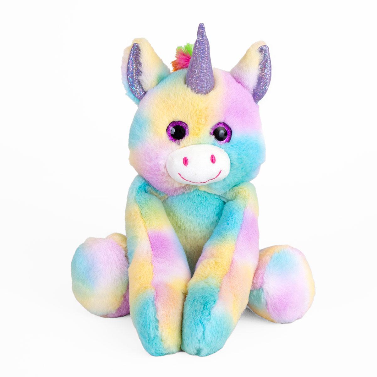 Jucarie de plus Noriel, Unicorn de imbratisat, 25 cm