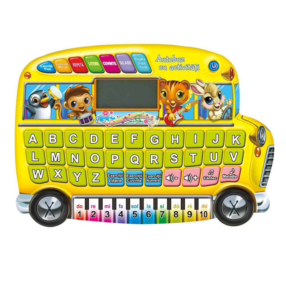 Set educativ Noriel Kids - Autobuz cu activitati