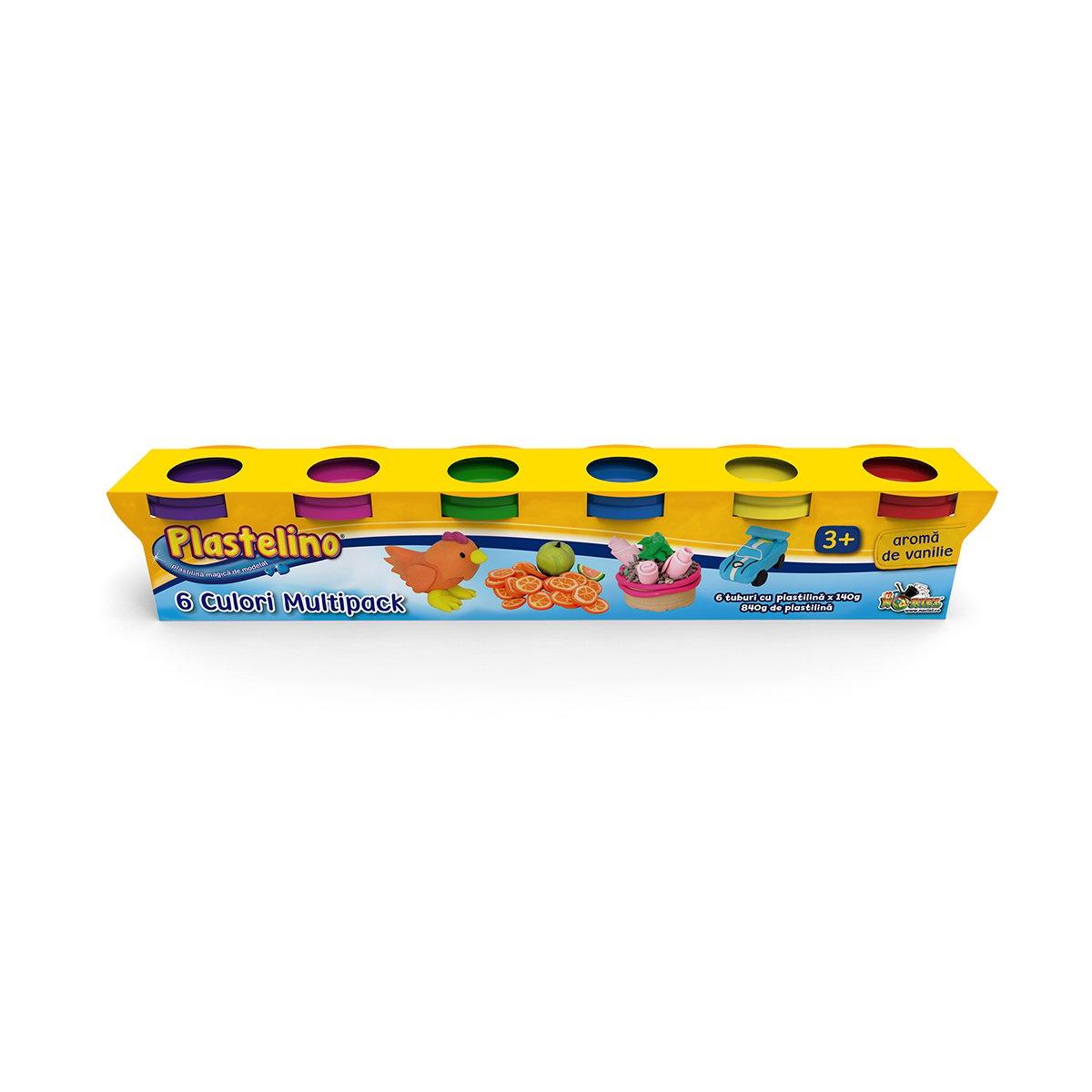 Plastelino - Multipack 6 culori II imagine