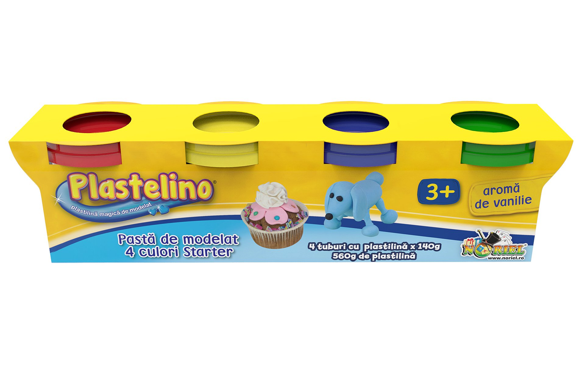 Plastelino - Pasta de modelat starter 4 culori II