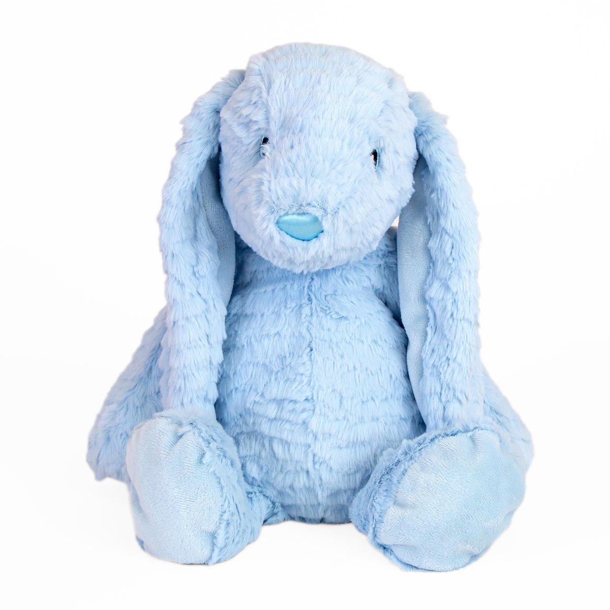 Jucarie de plus Noriel, Iepuras, Albastru, 40 cm