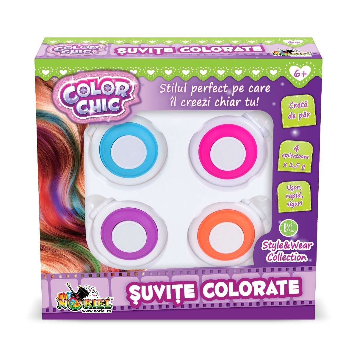 Set de creatie Color Chic, Suvite colorate