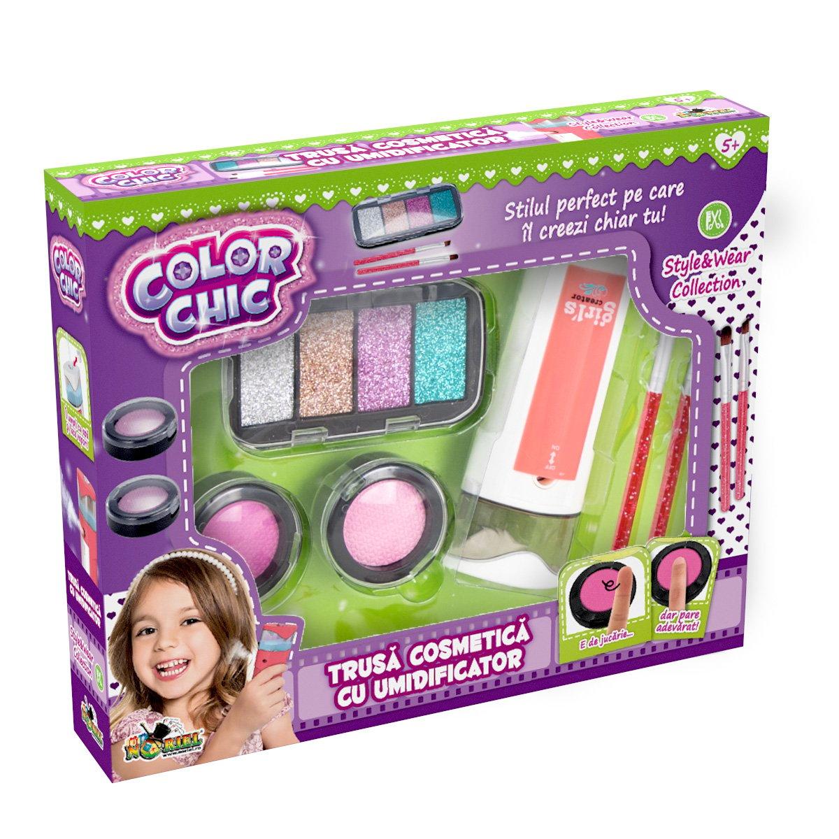 Set de creatie Color Chic, Trusa de cosmetica cu umidificator