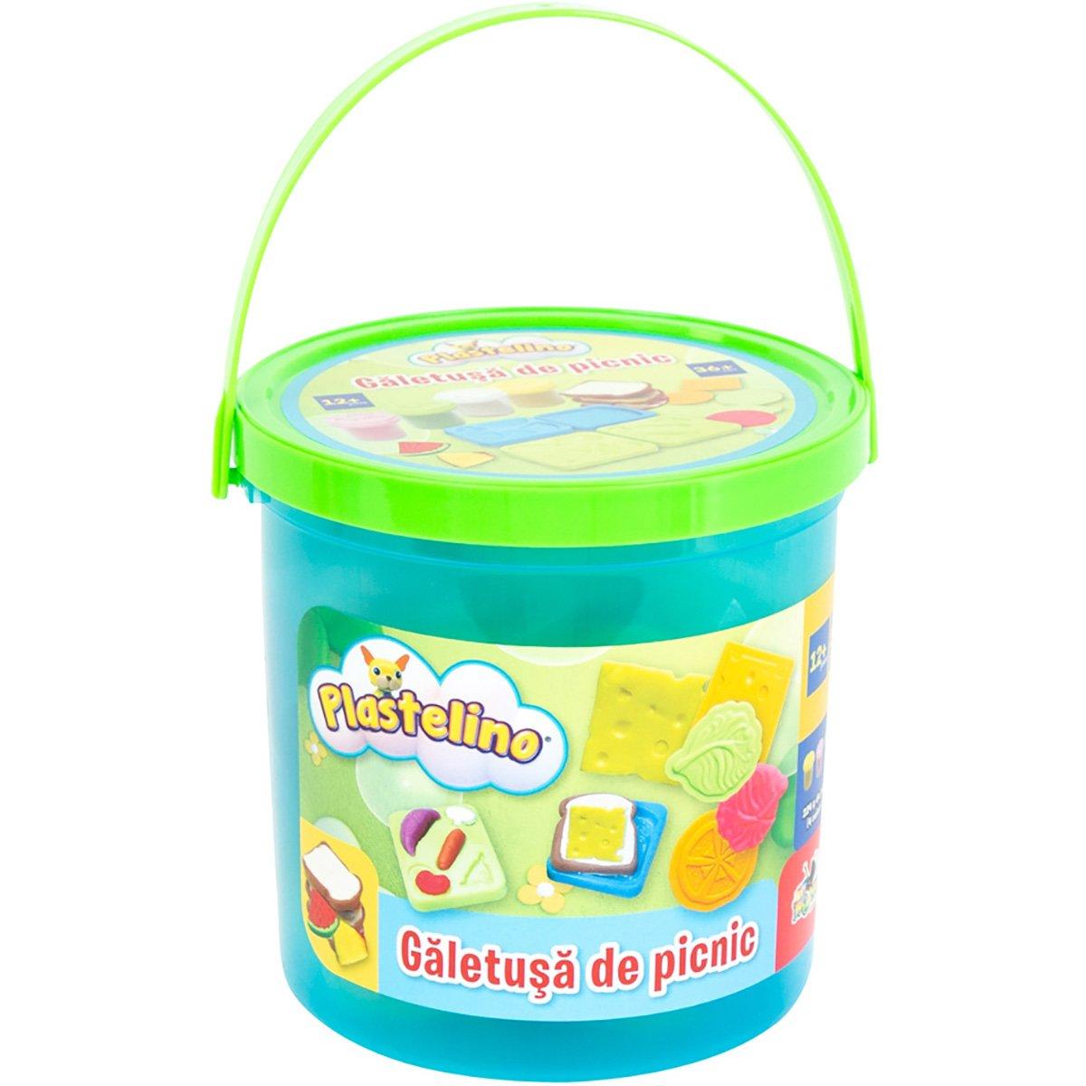Set de joaca Plastelino, Galetusa de picnic