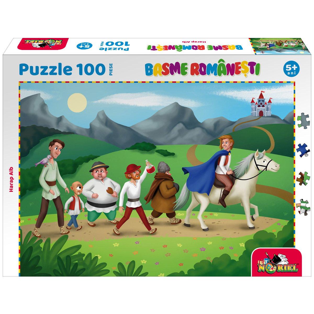 Puzzle 100 piese, Noriel Basme Romanesti, Povestea lui Harap Alb