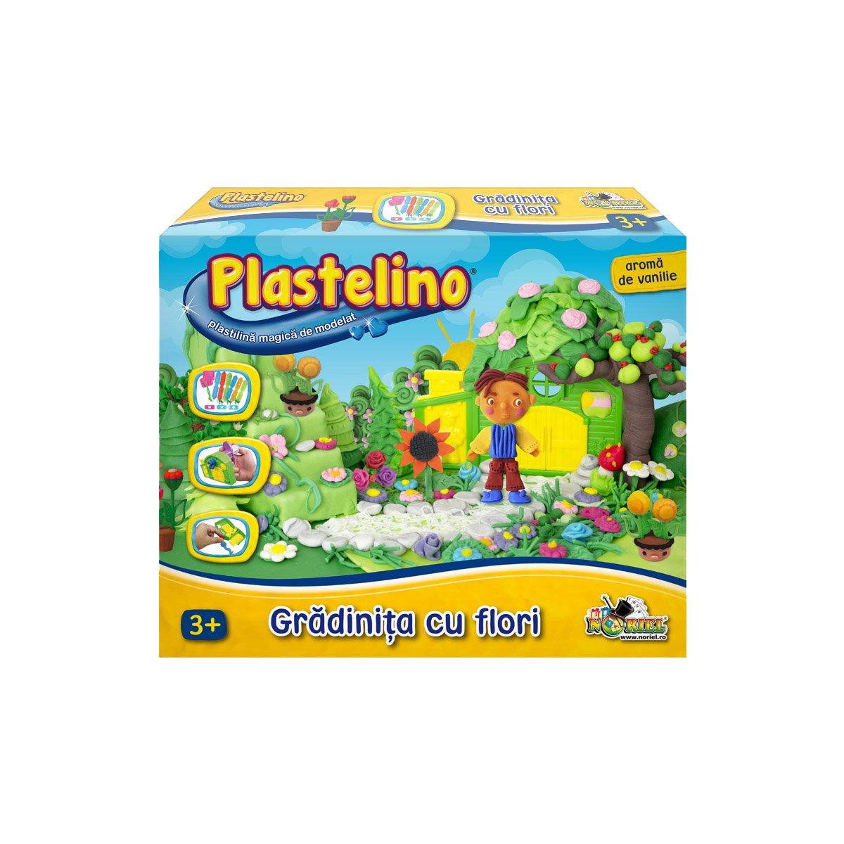 Plastelino - Gradinita cu Flori din Plastilina II