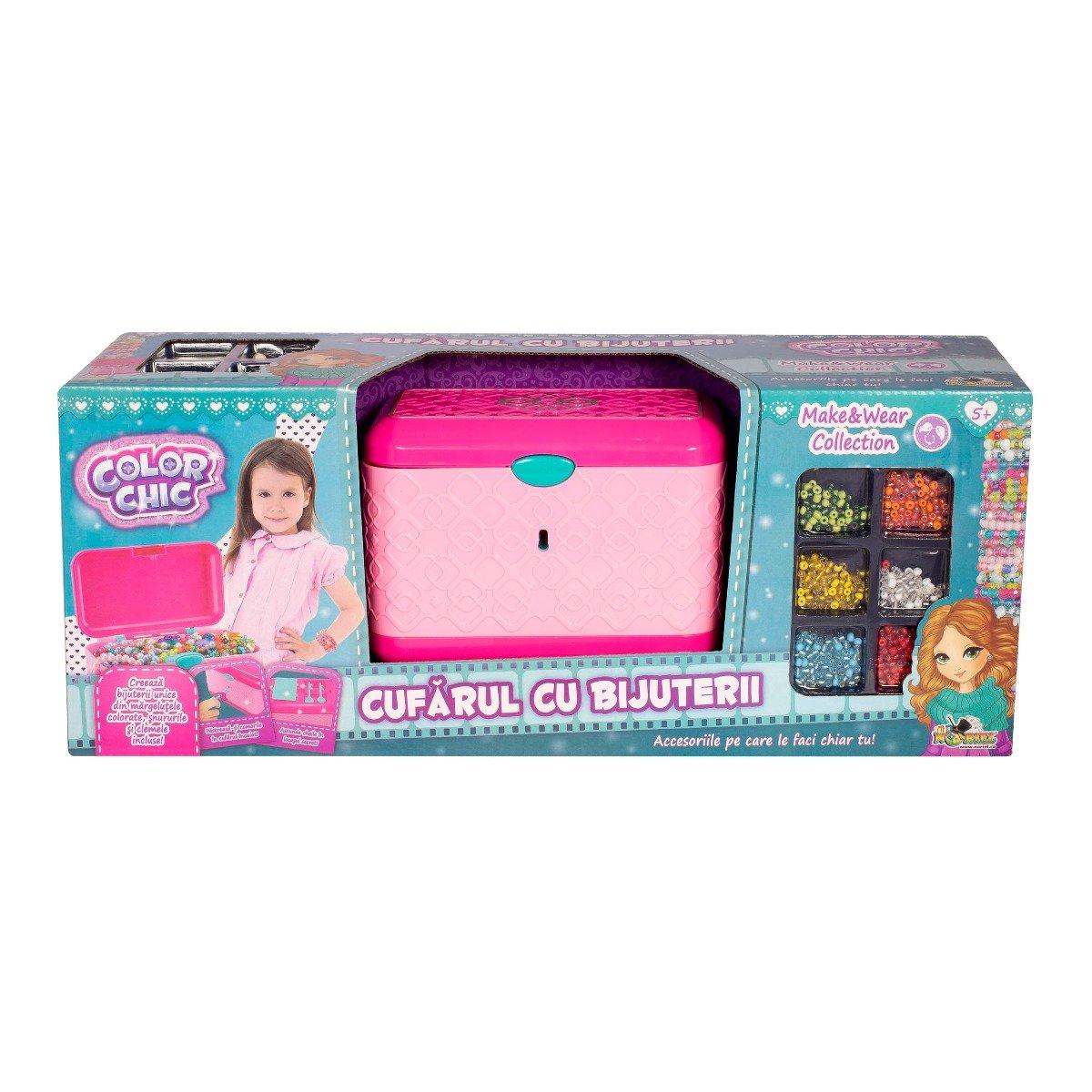 Set Creativ Color Chic - Cufarul Cu Bijuterii