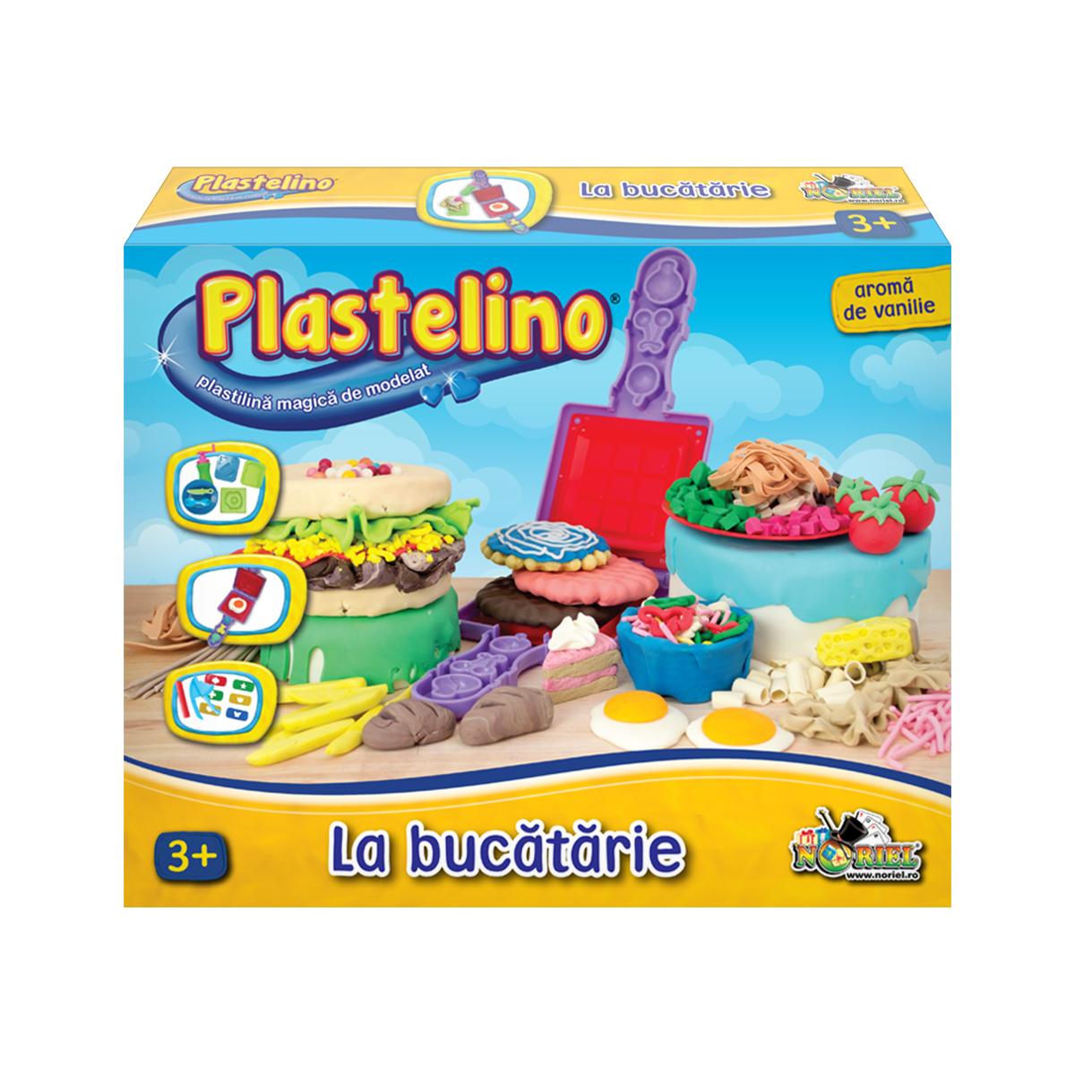 Noriel Plastelino - La bucatarie (plastilina)