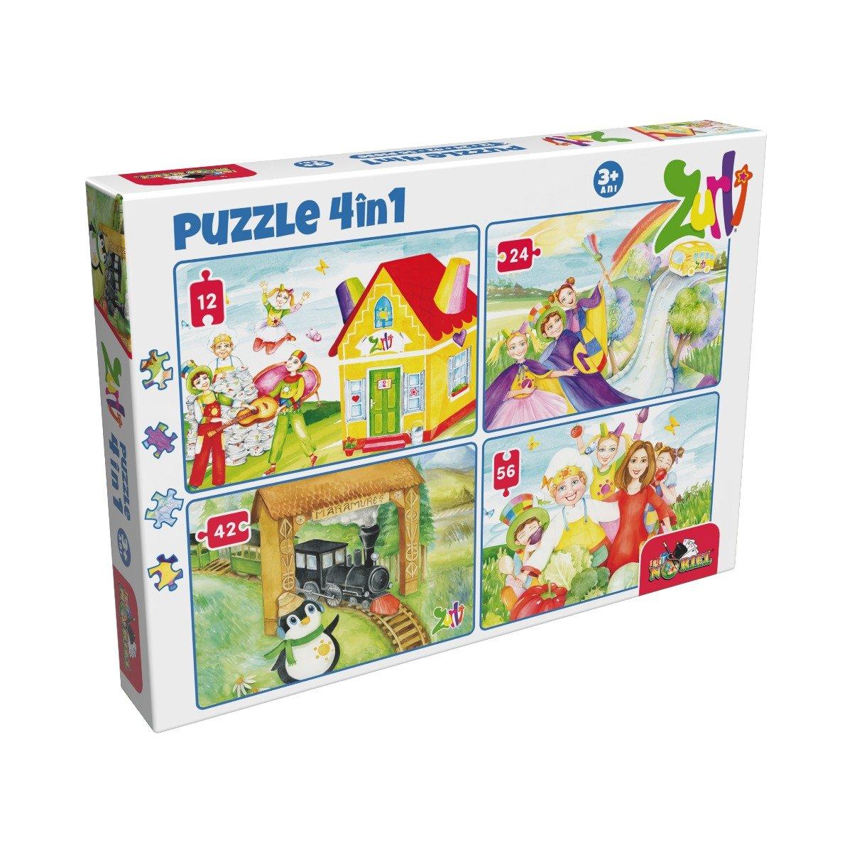 Puzzle 4 in 1 Noriel, Gasca Zurli