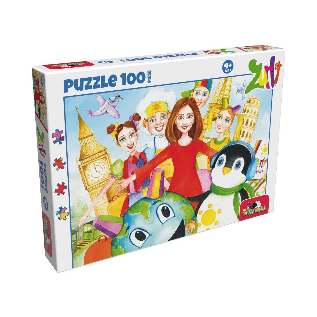 Puzzle clasic Noriel - Gasca Zurli, 100 piese