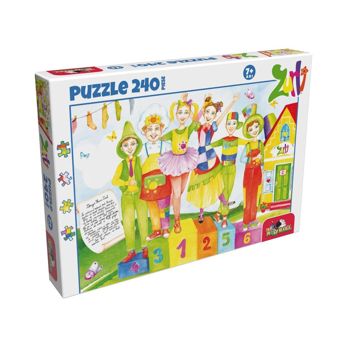 Puzzle clasic Noriel - Gasca Zurli, 240 piese