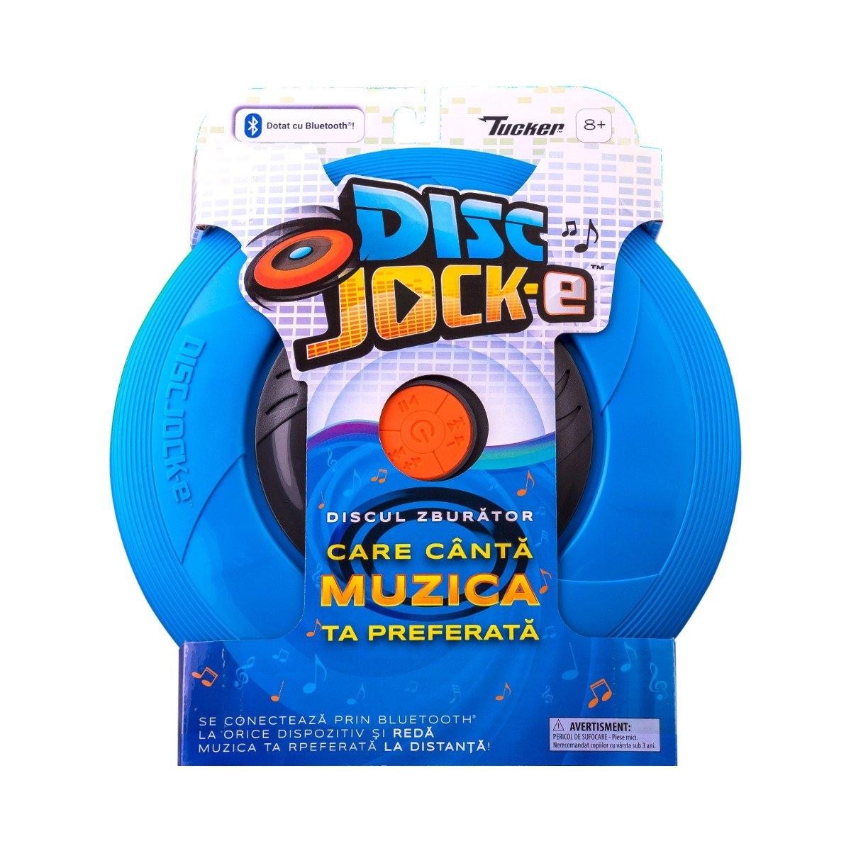 Disc zburator cu boxe Noriel Disc Jock-e, Blue