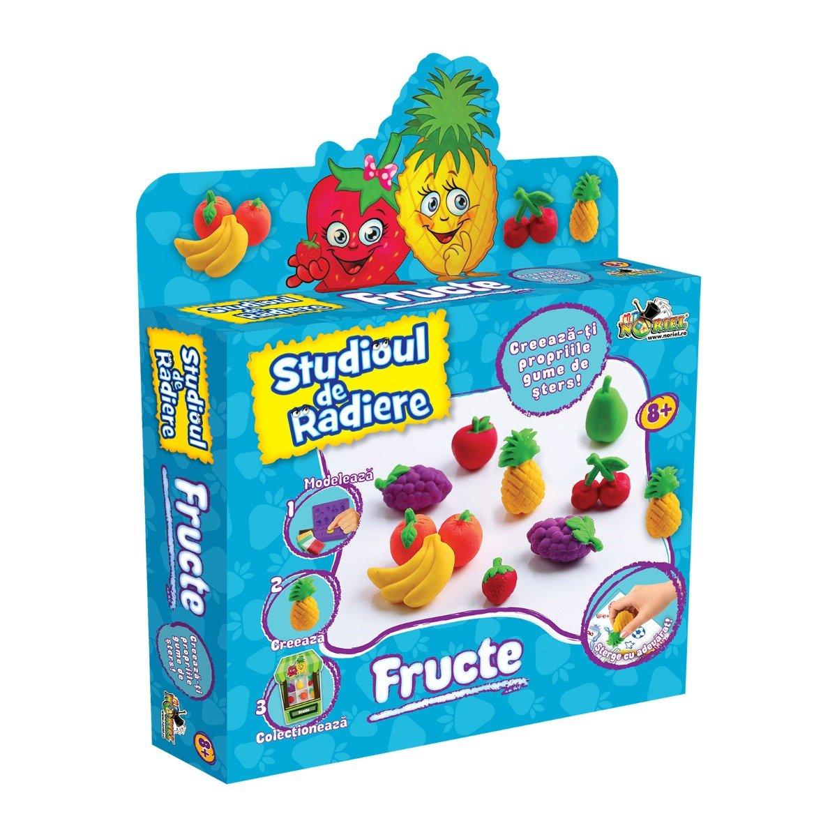 Set de modelat Noriel Studioul de radiere - Fructe