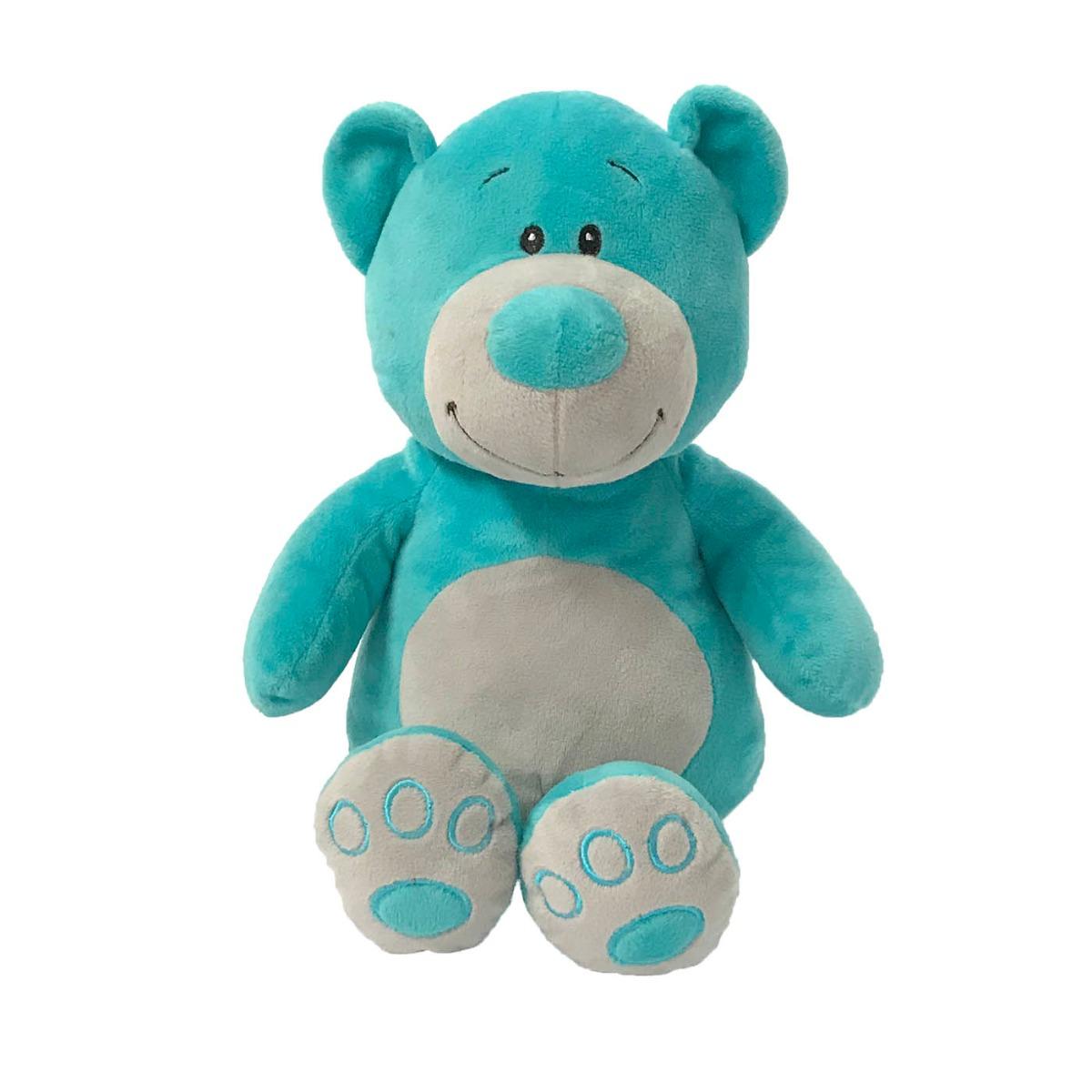 Jucarie de plus Ursulet, Albastru, 25 cm