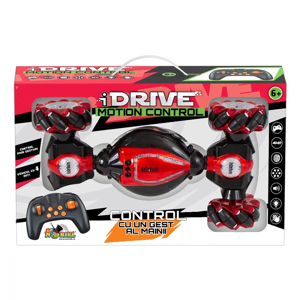 Masinuta cu telecomanda si control prin gesturi, iDrive Motion Control, Drift 4x4