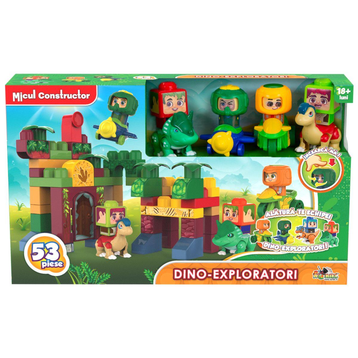 Dino-exploratori, Micul Constructor