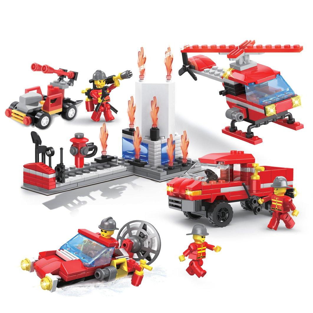 Echipa de pompieri, Micul Constructor