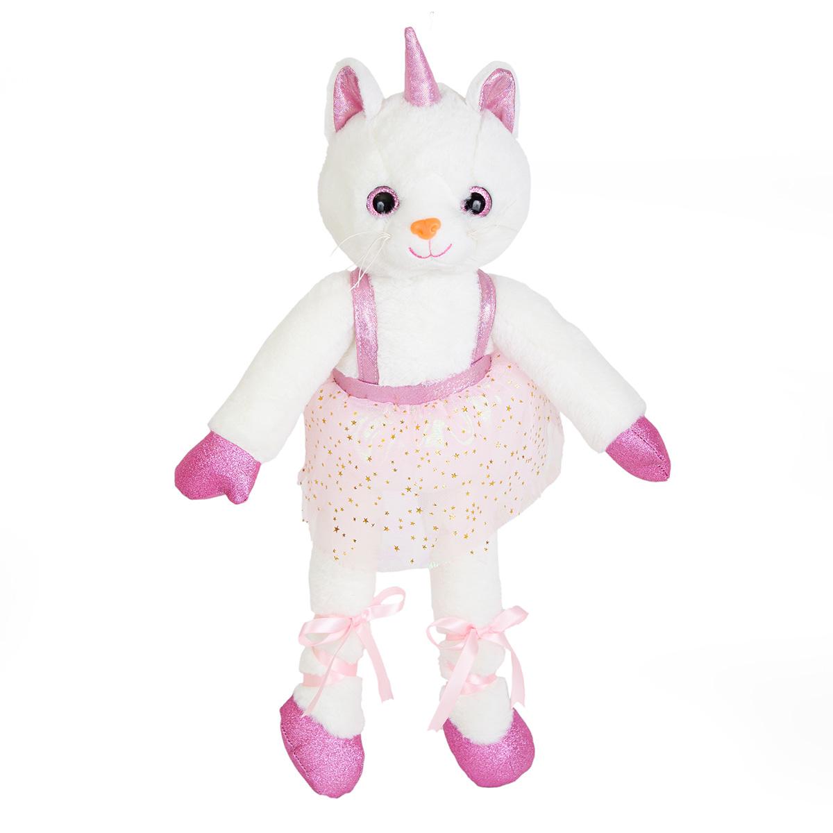 Jucarie de plus, Noriel, Pisica balerina, 45 cm