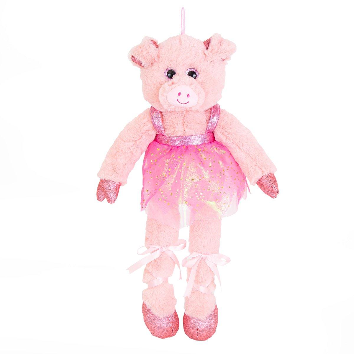 Jucarie de plus, Noriel, Purcelusa balerina, 45 cm